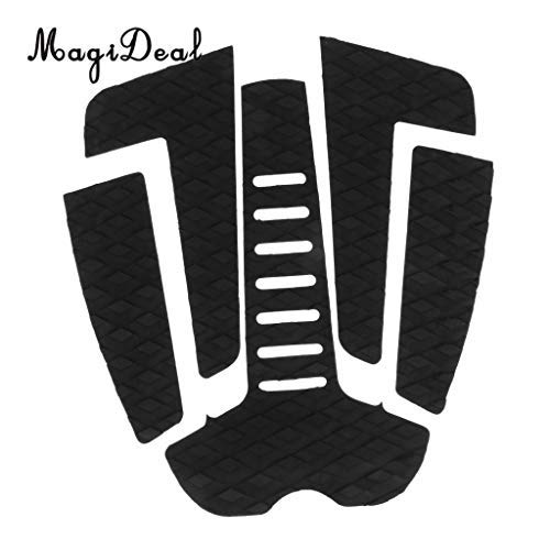 DDV-US - 5Pcs Surf Traction Pad Stomp Mat for Surfing and Skimboarding Adhesive Deck Grips for Surfboard Shortboard Longboard Skimboard