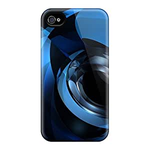 New Arrival Dark Eye Abstract For Iphone 4/4s Case Cover