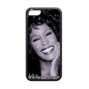 CTSLR Laser Technology Whitney Houston Protective TPU Case Cover Skin for Cheap phone iphone 4/4s iphone 4/4s-1 Pack- Black - 4