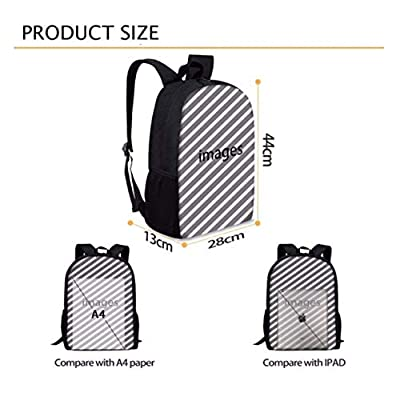 Kid's Schoolbag Truck_Grave Backpack Schoolbags Water Resistant College Student Rucksack: Office Products