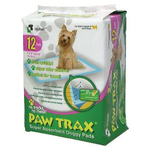 Richell Paw Trax Doggy Pads 12ct