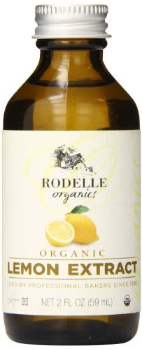 Rodelle Organics Pure Lemon Extract, 2 Ounce ()