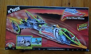 Knex Racers (Knex Land Speed Racers -- Spirit of America -- (Builds 3 Models and Includes Bonus Poster))