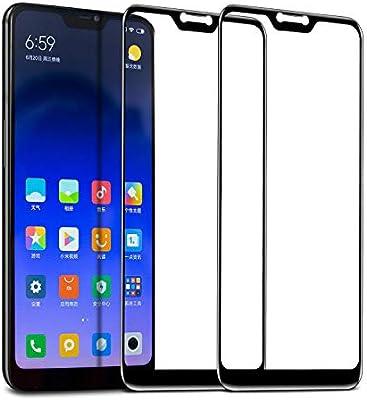 TECHKUN - Protector de pantalla de vidrio templado para Xiaomi Mi ...