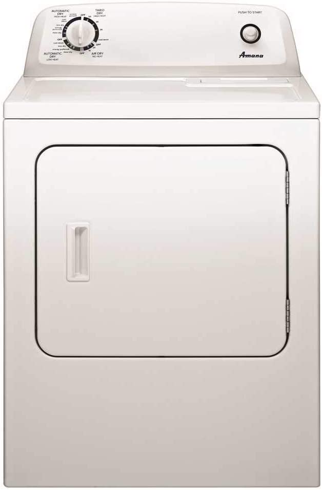 Amana Ned4655EW 6.5 cu. Ft. Front-Load Electric Dryer