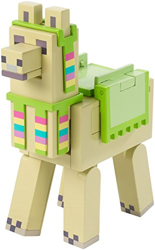 Minecraft Spitting Llama with Carrot & Head Dress Figure
