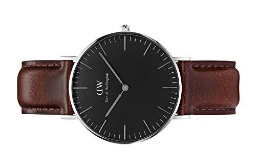 Daniel Wellington Classic Bristol Watch, Italian Brown Leather Band
