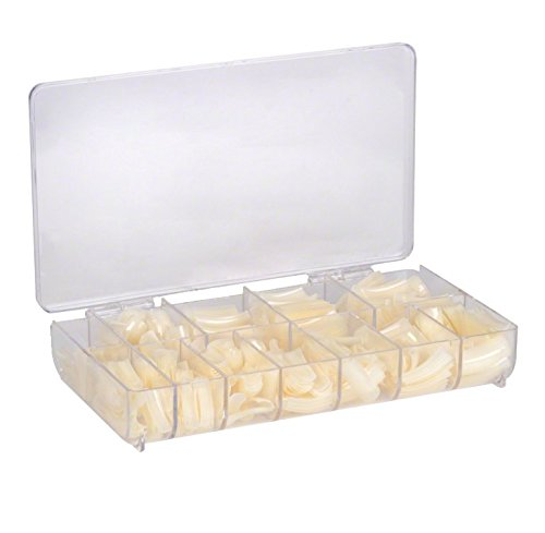 Caja de tips 500 natural/Tips 500 uds. para uñas/Tip para uñas en caja / 500 Tips naturales 1-10: Amazon.es: Belleza