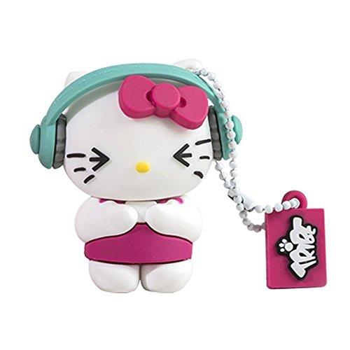 Hello DJ Kitty 8GB USB Flash Stick Drive ()