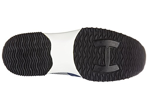 Hogan zapatos zapatillas de deporte hombres en ante nuevo interactive h flock bl