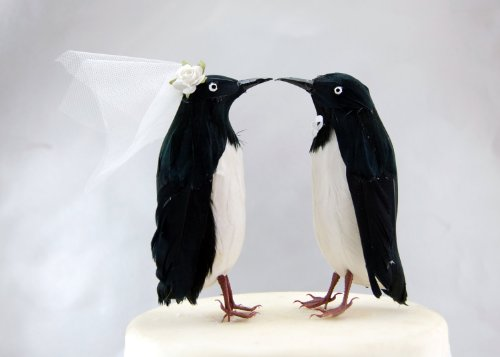 Adelie Penguin Cake Topper: