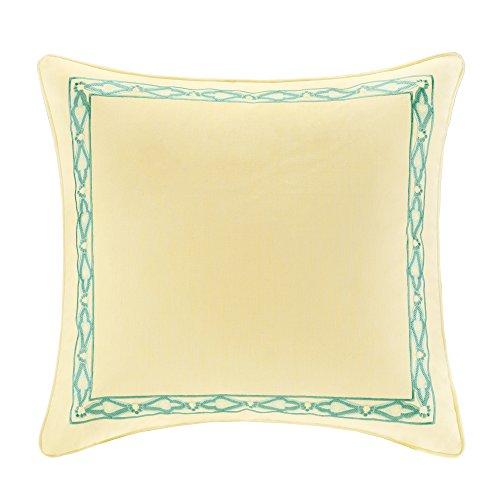 European Sham Bedding (Echo Guinevere Sham, European, Yellow)
