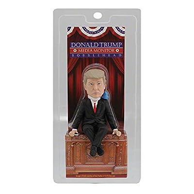 Royal Bobbles Donald Trump Media Monitor Bobblehead (Computer Sitter): Toys & Games