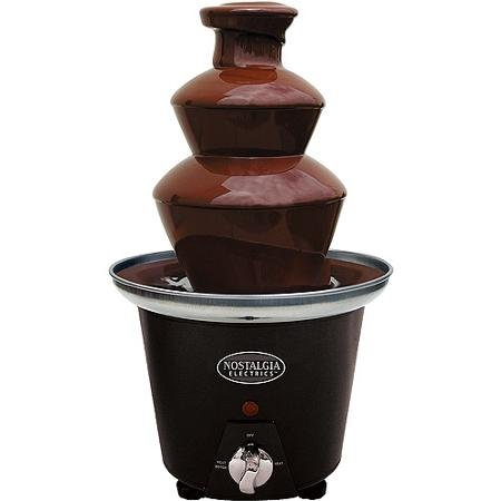 Nostalgia Chocolate Fondue Fountain (Nostalgia Electrics Mini Chocolate Fondue Fountain, CFF965)