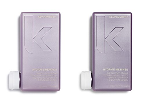 Price comparison product image Kevin Murphy Hydrate Me Wash and Rinse combo set mini size 40 ml/1.35 Fl Oz Liq. each