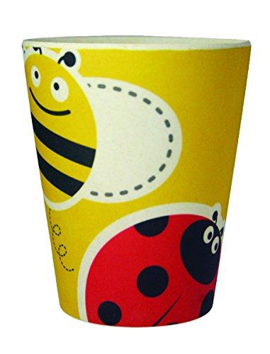 ecobamboo-ware-kids-bugs-cups-tumblers-set-yellow