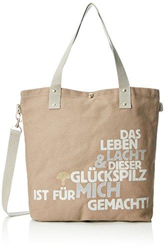 Adelheid Spruch Shoppers Einkaufstasche Marron Glückspilz M taupe xxwHq8RAg