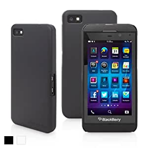 Snugg Blackberry Z10 Ultra Thin Case in Black - High Quality Slim Profile Non Slip, Protective and Soft to touch for Blackberry Z10