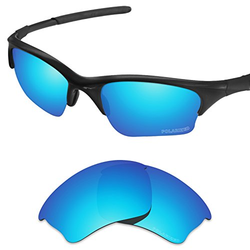 - Tintart Performance Lenses Compatible with Oakley Half Jacket XLJ Polarized Etched-Sky Blue