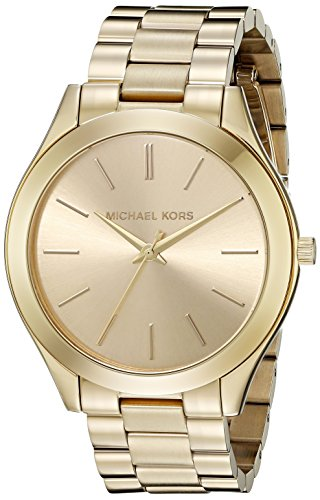 Michael Kors Watches Runway Watch (Gold) by Michael Kors