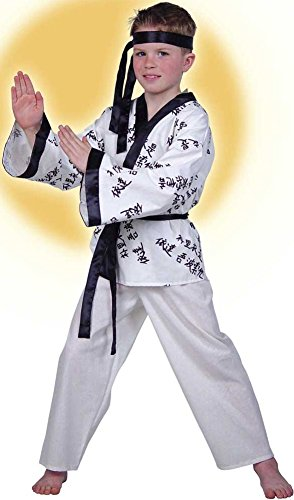 Traje de kung Fu, Karate-combate, Ninja, para carnavales y ...