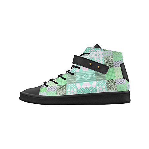 Artsadd Shapes Pattern Mix Round Toe Womens Shoes Boost Sneaker fbhvunE