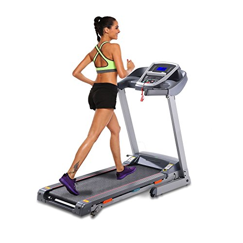 3.0HP Folding Electric Treadmill Fitness Walking Running Machine Home Gym Exercise Equipment with APP Bluetooth Control