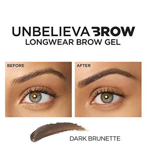 1d517a5a4c17 ... L'Oreal Paris Unbelieva-Brow Tinted Brow Makeup, Longwear, Waterproof Brow  Gel ...