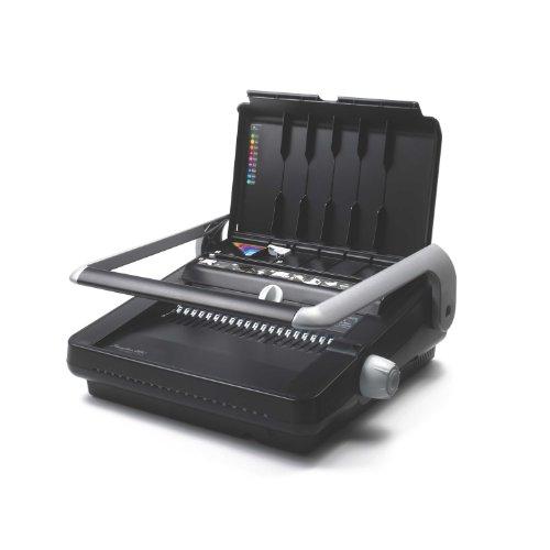 Swingline GBC Binding Machine, Manual, 500 Sheet Binding Capacity, 25 Sheet Punch Capacity, CombBind C340 (7709000)