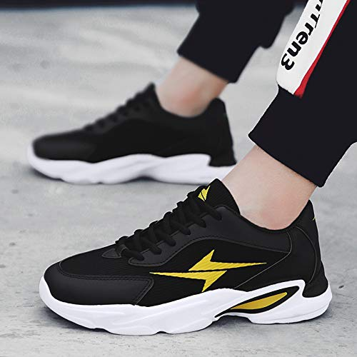 NANXIEHO Herbst und Winter Dämpfung Männer Schuhe Freizeit Sport Laufschuhe Trend Männer Einzelne Schuhe