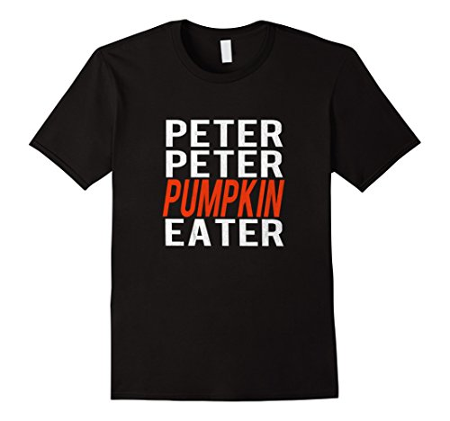 Mens Peter Peter Pumpkin Eater Couples Halloween Costume T-shirt XL (Peter Pumpkin Eater Costume)