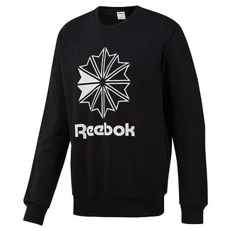 32a3ea12ea511 Amazon.com: Reebok Big Starcrest Crew Neck Sweatshirt: Clothing