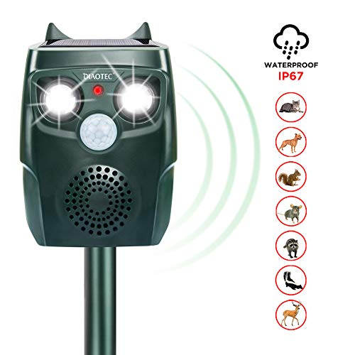Diaotec Ultrasonic Animal Repellent