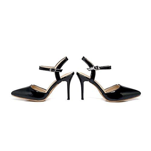 BalaMasa BalaMasa Compensées Femme Sandales Sandales Compensées Noir Hwndq1Sp1