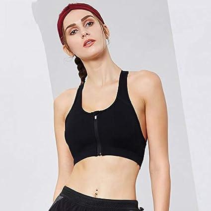 MJCDNB Beauty Back Bra, Sujetador de Yoga sin Costuras Sujetador de Confort Sin Anillo de