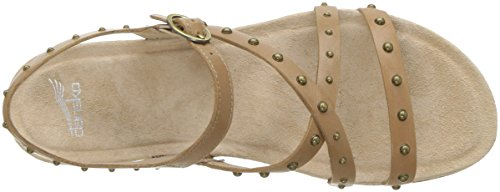 Dansko grain Flat Brigitte Women's sand Sandal full PqF6vPwgn