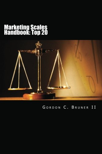Marketing Scales Handbook  The Top 20 Multi Item Measures Used In Consumer Research