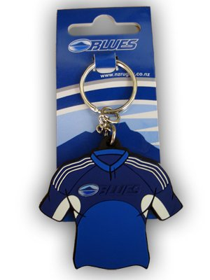 Auckland Blues Rugby-Shirt Schlüssel Ring