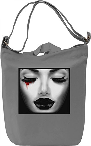 Blood Tear Borsa Giornaliera Canvas Canvas Day Bag| 100% Premium Cotton Canvas| DTG Printing|