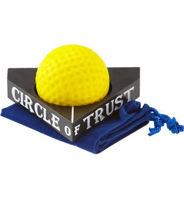 Circle of Trust Self-Teaching Putting Aid, White