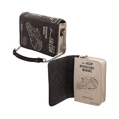 Star Wars Millennium Falcon Operations Manual Handbag Purse PU - Handbag Leather Millennium