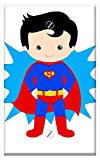Single-Gang Blank Wall Plate Cover - Superman Kid