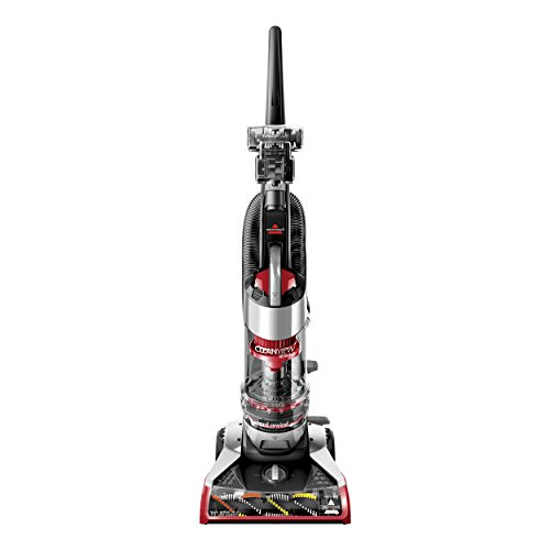 Bissell Upright Bagless Vacuum, Red Cleanview Rewind Plus