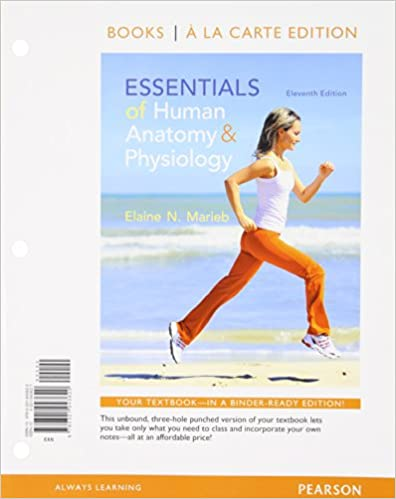 Amazon.com: Essentials of Human Anatomy and Physiology, Books a la ...