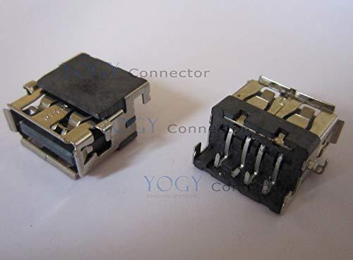 Gimax 1pcs USB socket fit for HP Compaq G42 G62 G72 CQ40 CQ42 CQ43 CQ46 CQ56 CQ58 CQ62 CQ72 series laptop usb jack port