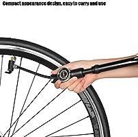 Dioche Bomba de Bicicleta con Indicador, Bomba de Aire de ...