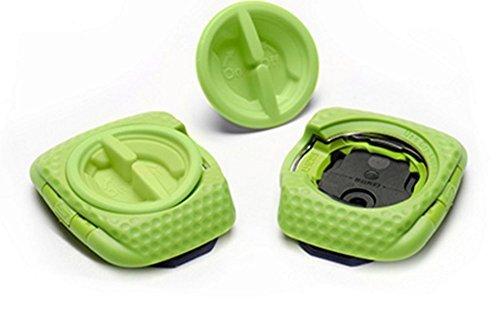 Speedplay Zero Aero Walkable Cleats Team Green, One Size