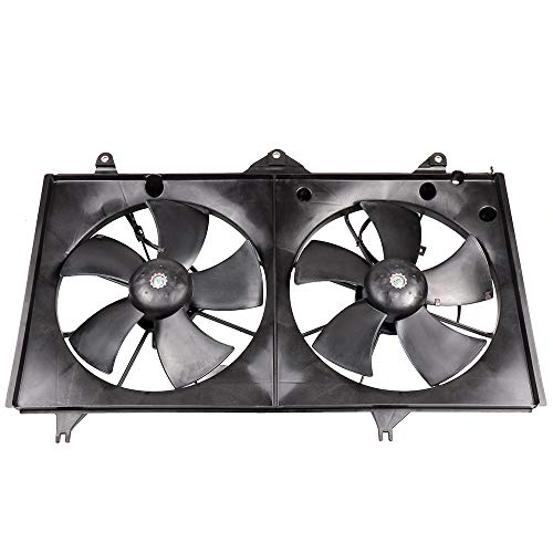 - SCITOO Radiator Condenser Cooling Fan Compatible with 2002 2003 2004 2005 2006 Toyota Camry 2.4L