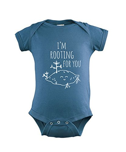 Amazoncom Im Rooting For You Baby Onesie Screen Printed Baby