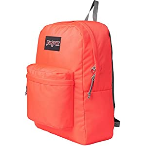 JanSport Unisex Black Label SuperBreak Tahitian Orange Backpack
